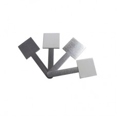 250 Pack of Small Uncoated Self-Adhesive Cable Management Clips